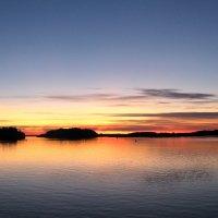 Закат над Белым озером :: Ирина Беркут