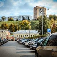 Парковки в центре Нижнего Новгорода. :: Nonna