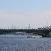 Мосты величием красуясь, соединяют берега.... :: Tatiana Markova