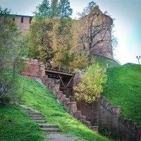 Раскопки на месте строительства фуникулера в Нижнем Новгороде. :: Nonna