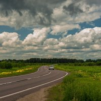 По дороге с облаками :: Валерий Иванович