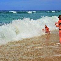 А тёплое море и пляж Клеопатра ждали нас... :: Sergey Gordoff
