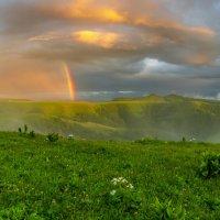 После грозы в горах.... :: Сергей Сабешкин