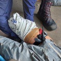 Тренировочное занятие по наложению жгута и повязки :: Мария Коледа