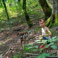 Летние каникулы с Бади :: Tata Wolf