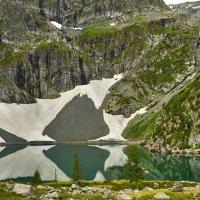 Красная гора,второе озеро :: Николай Мальцев