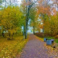 Осенний парк :: Сергей Кочнев