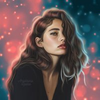 Дрим арт обработка фото портрет по фото :: Анастасия Левина