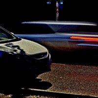 Промчалось..  ночное  авто! :: Евгений