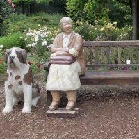 Одинокая старушка с собачкой желают познакомиться :: Владимир Манкер
