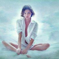 Витая где-то в облаках... :: Лара Leila