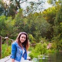 у реки :: Мария Полохина