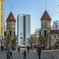 Таллин, вход в новый город :: Ольга Маркова