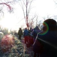 за Владыкой в след :: Юлия Мошкова