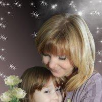 Мама с дочкой :: Елена Логвинова