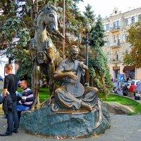 Памятник Казаку Мамаю  на Площади  независимости :: Ростислав
