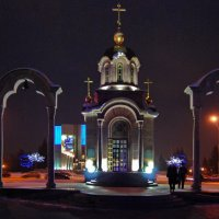 В свете ночных фонарей :: Татьяна Аистова