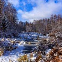 Замерзающий ручей :: Николай Андреев
