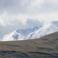 первый снег в горах :: Лена Ипполитова