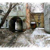 старый двор :: . vvv .