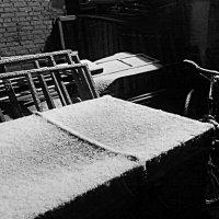 Первый снег.26ноября. :: Сергей Ситников