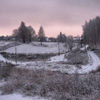 Снег под вечер :: Владимир Макаров