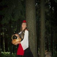 Страх неизвестного. Красная шапочка и серый волк. Разработка. :: Виктория Гаман