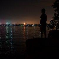 огни ночного города :: Татьяна Исаева-Каштанова