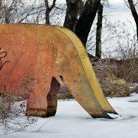 Примёрзший слон :: Юрий Муханов