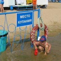 За ограждение не заплывать. :: Геннадий Кульков