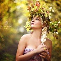 Девушка -Осень :: Алла Кочкомазова