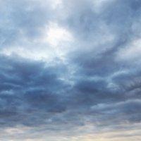 Ноябрь.Облака,река,ледоход,закат. :: Владимир Михайлович Дадочкин