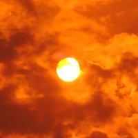 Багровый закат :: Сибирь Ворумо