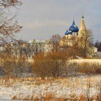 Вид на суздальский кремль :: Валерий Струк