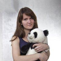 Портрет с мишкой :: Андрей Качин