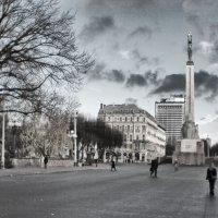 Памятник Отчизне и Свобде, Рига :: Андрей Селиванов