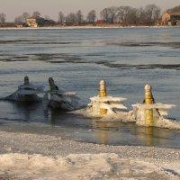 Ледяное украшение :: Людмила Жданова