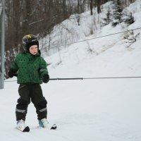 Горные лыжи :: Анна Уварова