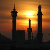 Закат над Дубаем... :: Просто witamin