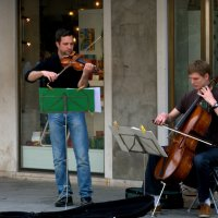Уличные музыканты. Венеция. :: ФотоЛюбка *