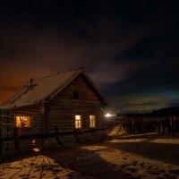 Вечер в деревне :: Сергей Шаврин