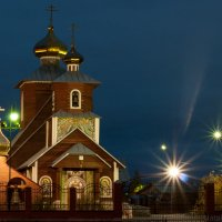 Церковь в Новом Уренгое :: Наталья Филипсен