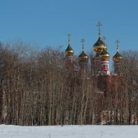 Купола златоглавые :: Валерий Шибаев