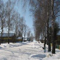 Зимняя улица :: Alena Cyargeenka