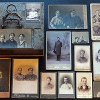 1880 - 1917. Мои предки. Несколько фотографий из железной капитанской шкатулки деда :: Владимир Шибинский