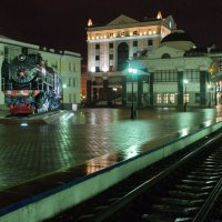 Вокзал Красноярск :: Алексей Некрасов