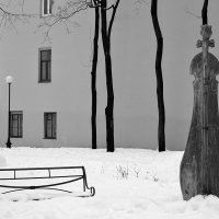 Сквер Андрея Петрова чб :: Valerii Ivanov