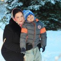 мама и сын :: Elena Zhivoderova