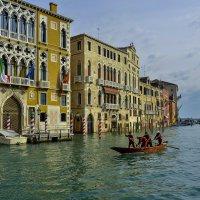 Венеция. Подготовка к традиционной сентябрьской регате. :: Аркадий Беляков