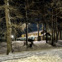 старый парк ... :: Роман Шершнев